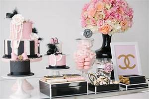 COCO CHANEL FASHIONISTA DESSERT TABLE Best Friends For