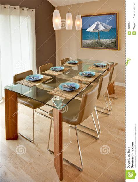 sala da pranzo moderna sala da pranzo moderna contemporanea immagini stock
