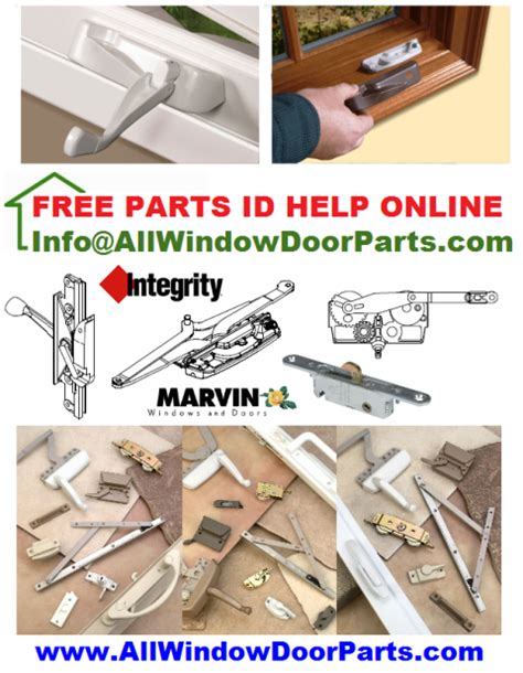 casement window hardware parts integrity norandex norco pozzi jeld wen rockwell seal