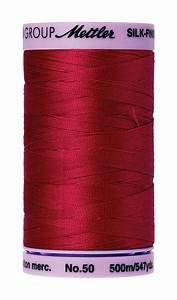 mettler silk finish large spool 547 yards color 9104