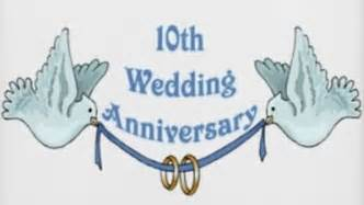 10th year anniversary quotes quotesgram - Tenth Wedding Anniversary