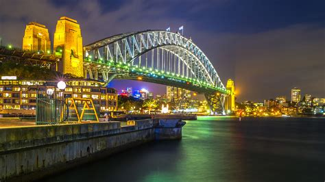 Find your perfect phone wallpaper from our stunning handpicked collection. Sydney Night With Harbour Bridge In Australia Best Hd ...