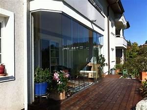 Schiebefenster Für Balkon : schiebefenster f r terrasse unterhalb eines balkons ~ Watch28wear.com Haus und Dekorationen