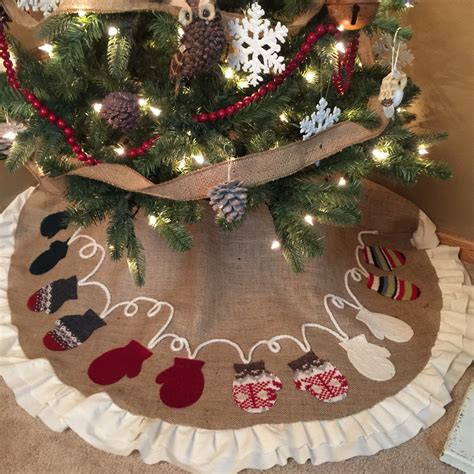 personalized faux fur 4 tree skirt ideas merry