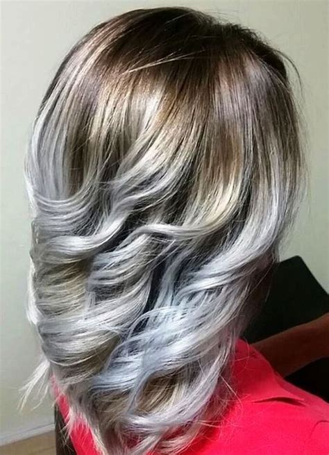 shades  grey highlights silver  white