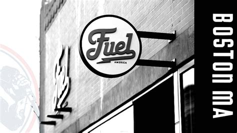 Overview of coffee cup fuel stop. Fuel Coffee Company | Dieline