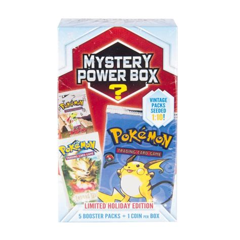 Check spelling or type a new query. Pokemon Mystery Power Box Holiday Trading Cards - Walmart.com - Walmart.com