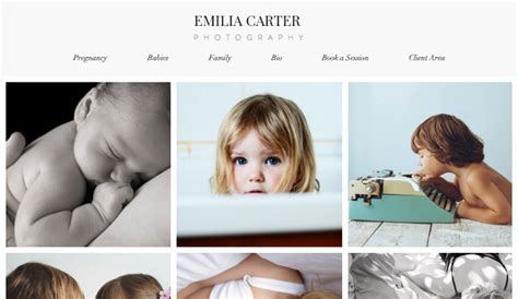 Photography Website Templates Photography Website Templates Wix