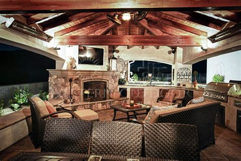 Inside Outside Living Room Ideas by Outdoor Rooms With Fireplaces Western Outdoor Design Is