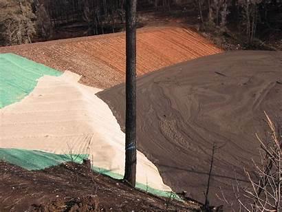 Debris Basin Sediment Fire Stream Emergency Channel