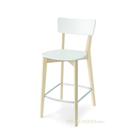 Sgabello Calligaris by Sgabello Per Penisola Con Schienale Jelly Connubia By