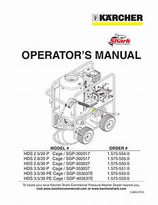 Pdf Manual For Karcher Other K 7000 G Pressure Washers