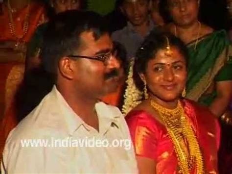 Welcoming the married couple   A Custom in Hindu Marriage