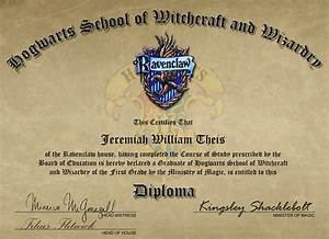 my hogwarts diploma by joekabox on deviantart With hogwarts certificate template