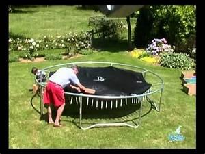 Prix D Un Trampoline : montage d 39 un trampoline youtube ~ Dailycaller-alerts.com Idées de Décoration