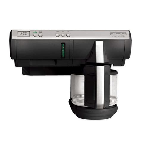 cabinet coffee maker need an the cabinet coffee maker black and decker