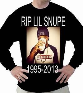 RIP LIL SNUPE 1995 2013 Jerzees T Shirt 363LS