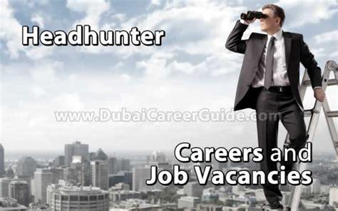 headhunter careers  job vacancies