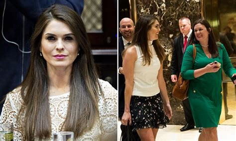 Trump makes Hope Hicks his communications director