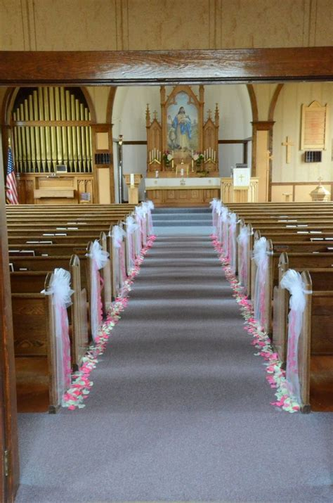 by wedding flowers inc church wedding decorations wedding pew decorations church