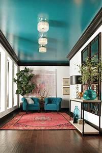 Couleur Bleu Canard Deco : d co bleu canard id es de peinture murale meubles et objets d co ~ Melissatoandfro.com Idées de Décoration