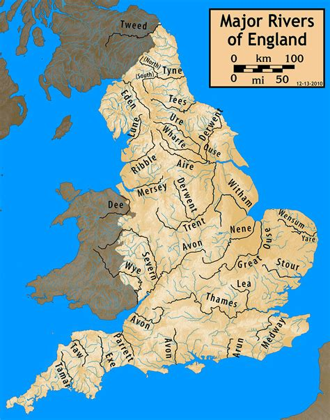 List Of Rivers Of England Wikipedia