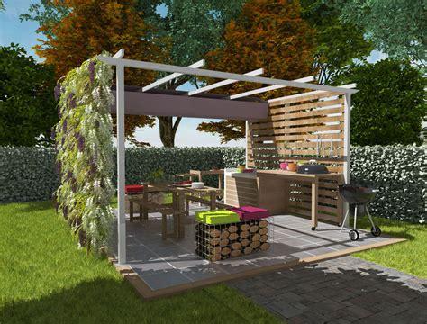 cuisine d été castorama superbe construction d un barbecue exterieur 6 cuisine