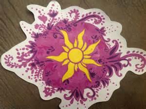 Rapunzel Tangled Sun Symbol