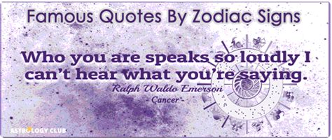 Famous Quotes People Different Zodiac Signs
