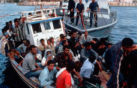 Immigrant Boat by Immigration In The Eu