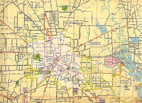 houston maps houston