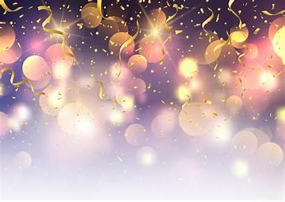 Confetti Streamers Background Lights Bokeh Streamer Party