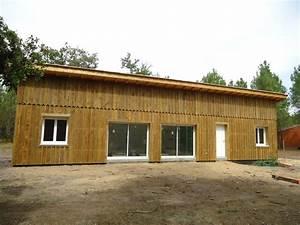 Maison En Bois Construction : deck 40 maison ossature bois landes constructeur maison bois landes mimizan pontenx les ~ Melissatoandfro.com Idées de Décoration