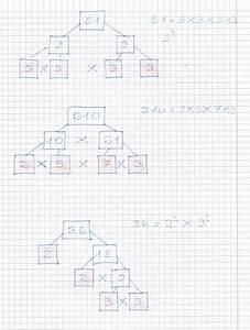 Scomposizione Dei Numeri Composti In Numeri Primi