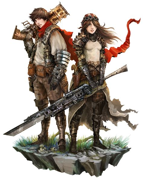 human couple shattered rpg  eyardt  deviantart