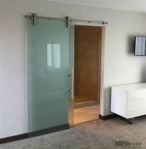 Sliding glass doors contemporary bedroom other metro for Sliding bedroom door