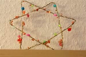 Sterne Selber Basteln Mit Perlen : filz und garten gartenblog diy drahtstern aus perlen ~ Lizthompson.info Haus und Dekorationen