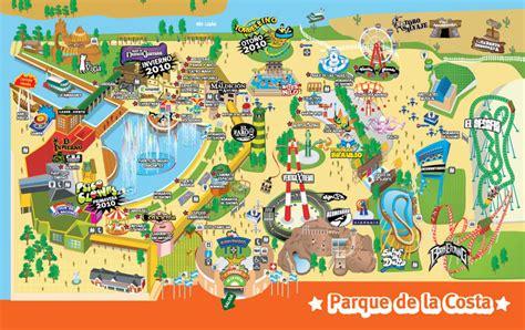 Viernes, 26 de enero de 2018. Mapa del Parque de la Costa (Argentina) - Turismo.org