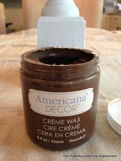 Americana Decor Creme Wax Tutorial by Furniture Furniture Makeover And Decor On