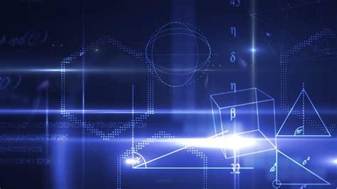 digital animation  math equations stock footage video
