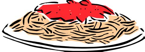 Spaghetti Dinner Clip Spaghetti Clipart Clipartion