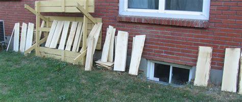 Backyard Lumber Milling