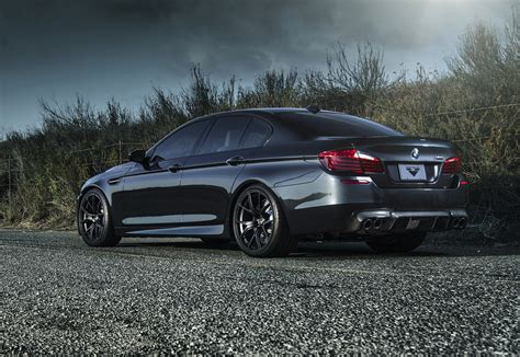 sinister black vorsteiner bmw  performancedrive