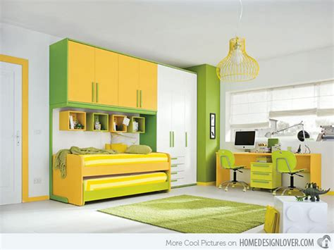 15 Refreshing Bedrooms In Yellow And Green Colors