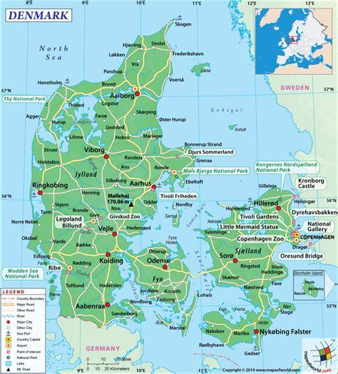 map  aalborg denmark