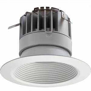 Lithonia lighting in white integrated led recessed