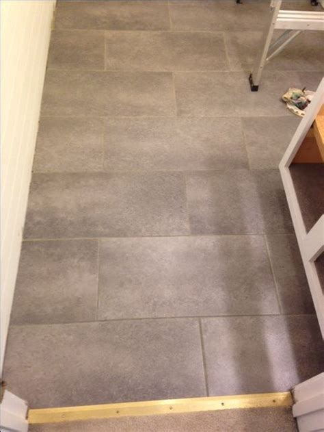 peel and stick kitchen floor tile i my new bathroom floor it s peel and stick 9076