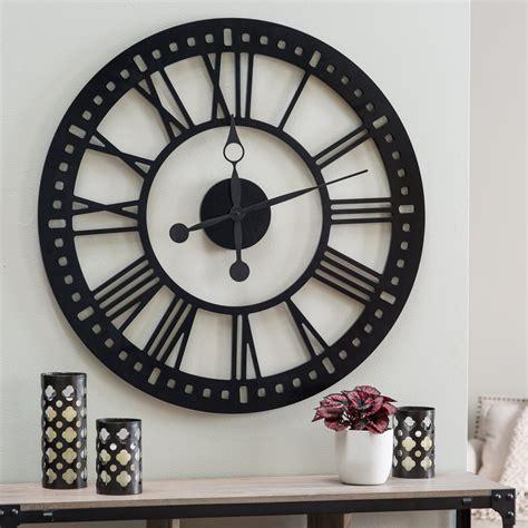 Large Decorative Wall Clocks Home Decor