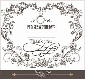 europeanstyle lace border 03 vector free vector 4vector With wedding invitation border design vector free download