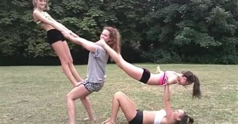 Awesome 4 Person Stunt!